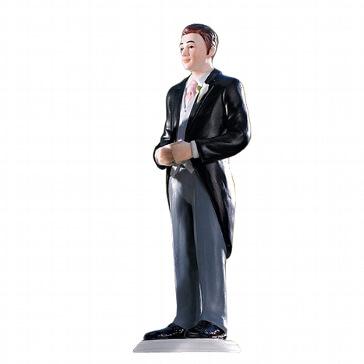 Bräutigamfigur für die Hochzeitstorte
