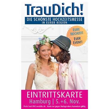 Tageskarte TrauDich Hamburg