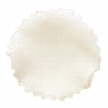 Tüllkreis für Gastgeschenk, Creme