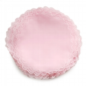 Tüllkreise für Gastgeschenke in Rosa
