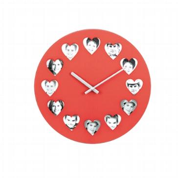 "Uhr ""Herzbilder"""