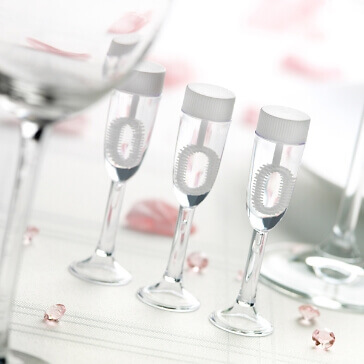 Wedding Bubbles Sektglas