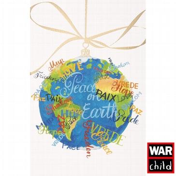 """Weihnachtskarte """"Frieden"""""""