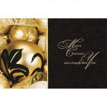 """Weihnachtskarte """"Goldglanz"""""""