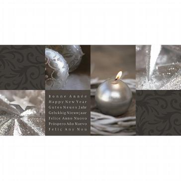 """Weihnachtskarte """"Kerzenlicht"""""""