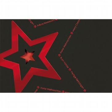 """Weihnachtskarte """"Stern"""""""