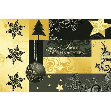 """Weihnachtskarte """"Frohe Weinnachten"""