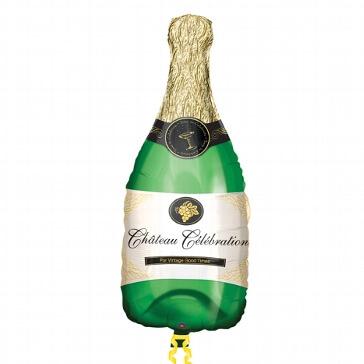 "XL-Folienballon ""Champagnerflasche"""