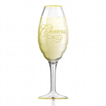 XL-Folienballon Champagnerglas