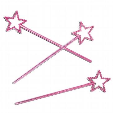 Zauberstab Stern, pink