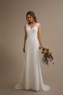 Brinkman straight wedding gown