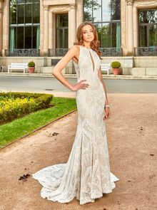 Novabella, wedding dress, fit and flair