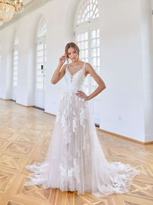 Novabella, wedding dress, A-line