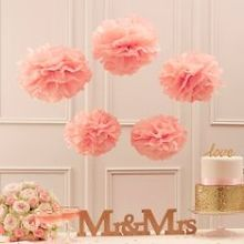 "PomPoms ""Fluffy"" in Altrosa"
