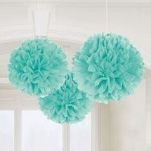Pompoms in Mint