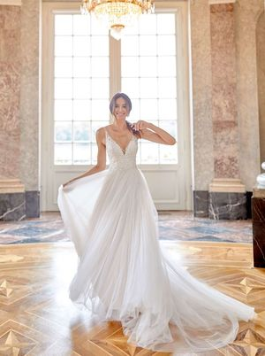 Novabella, wedding dress, A-line, maternal