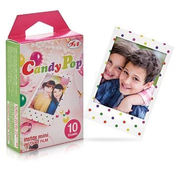 Instax Mini Filme Candy Pop, 10 Stk