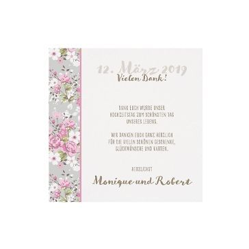 Save-the-Date oder Dankeskarte Katrin