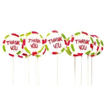 Gastgeschenk Lolli Thank you