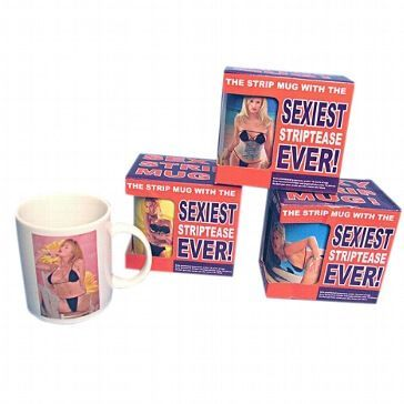Kaffeebecher Stripper Mug Girl