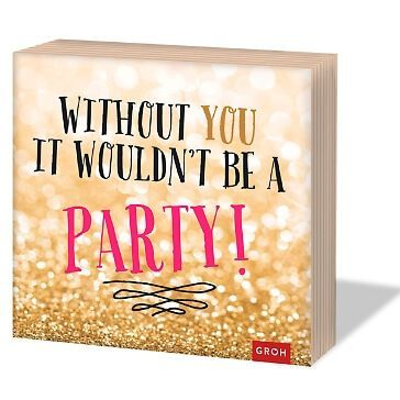 Partyservietten Without you.., 20 St.